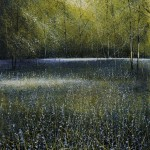 """Bluebells"" A painting by Rory James Browne"