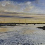 """Brancaster Staithe"" A painting by Rory J Browne"