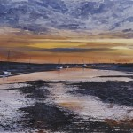 """Burnham Overy Staithe"" A painting by Rory J Browne"