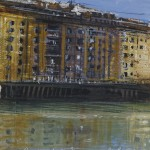 """The River Arno"" A painting by Rory J Browne"