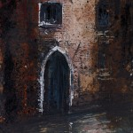 """Venice, Narrow Gate"" A painting by Rory J Browne"
