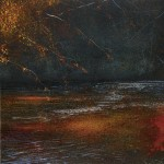 """Autumn light on the stream"" Oil A painting by Rory Browne"
