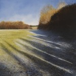 """Light and Shadows. Psalm 36 v7"" A painting by Rory Browne"