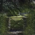 """That special gate"" A painting by Rory Browne"